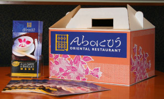 Abacus Take Away Menu